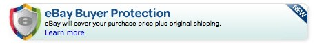 eBay buyer prtection